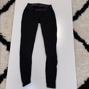 Black Gymshark Leggings XS